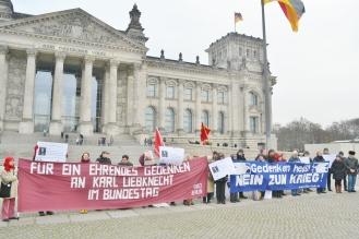Karl Liebknecht Bundestag antimil