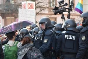 blockupy polizei