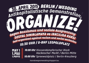 antikapdemo wedding 2015