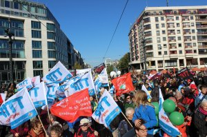 NaturFreunde TTIP Demo