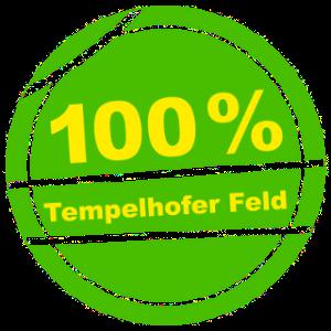 100% Tempelhofer Feld