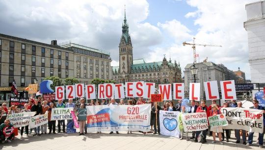 G20 Protestwelle-Bündnis